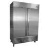Serv-ware 2 door stainless steel