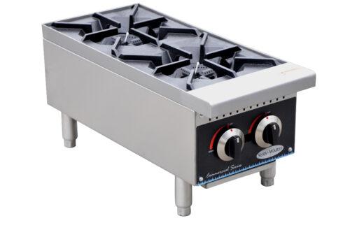 Serv-Ware 2 Burner Counter Top Gas range