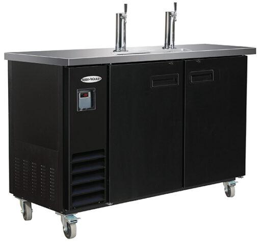 "Serv-ware 2 tower Beer Dispenser 24"" direct draw"