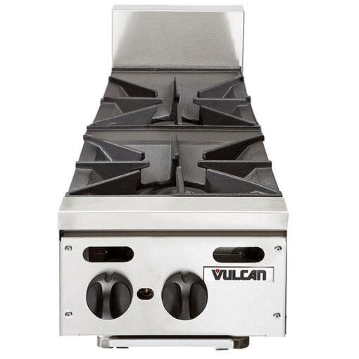 """Vulcan VHP212 Natural Gas 12"""" 2 Burner Countertop Range"""
